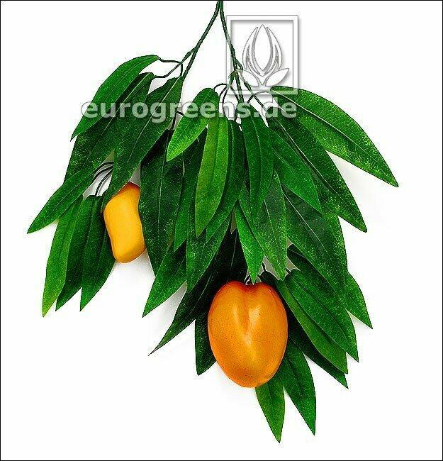 Umělá větev Mango s plody