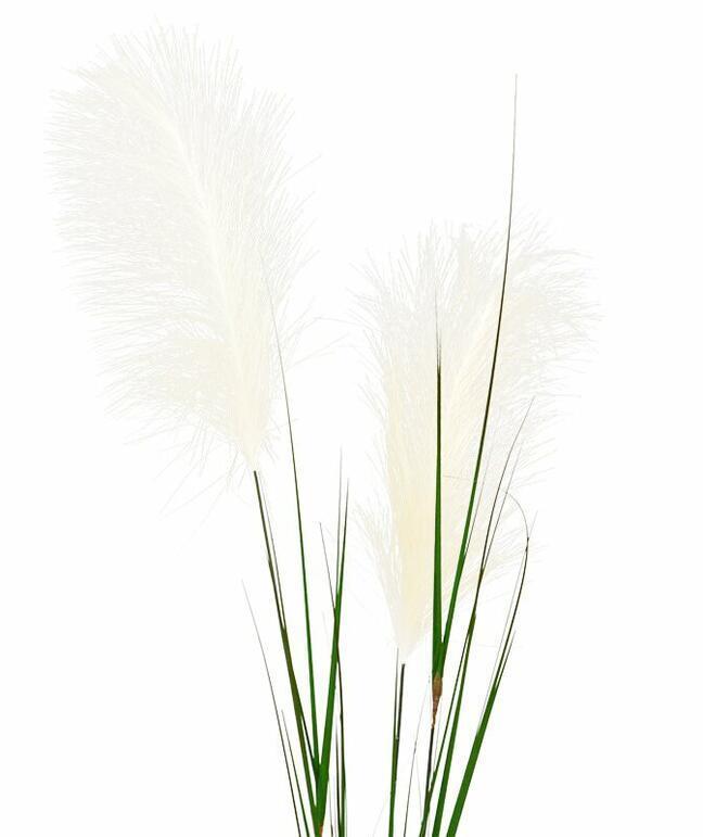 Umělá větev Pampová tráva krémová 120 cm