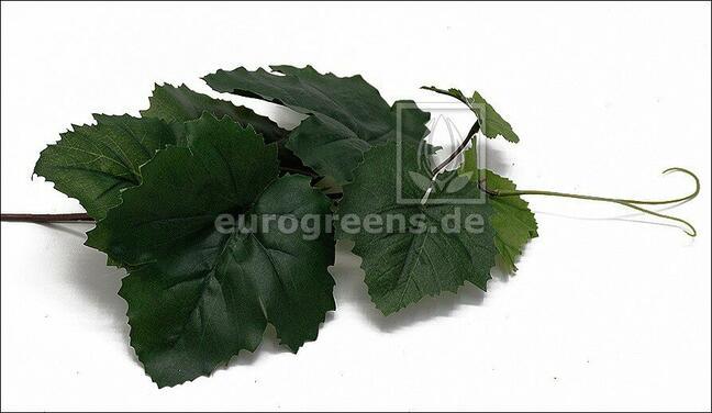 Umělá větev Réva vinná 30 cm