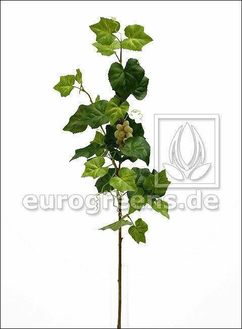 Umělá větev Réva vinná s plody 95 cm