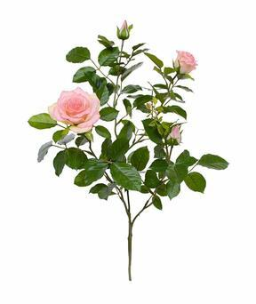 Umělá větev Růže růžová 70 cm