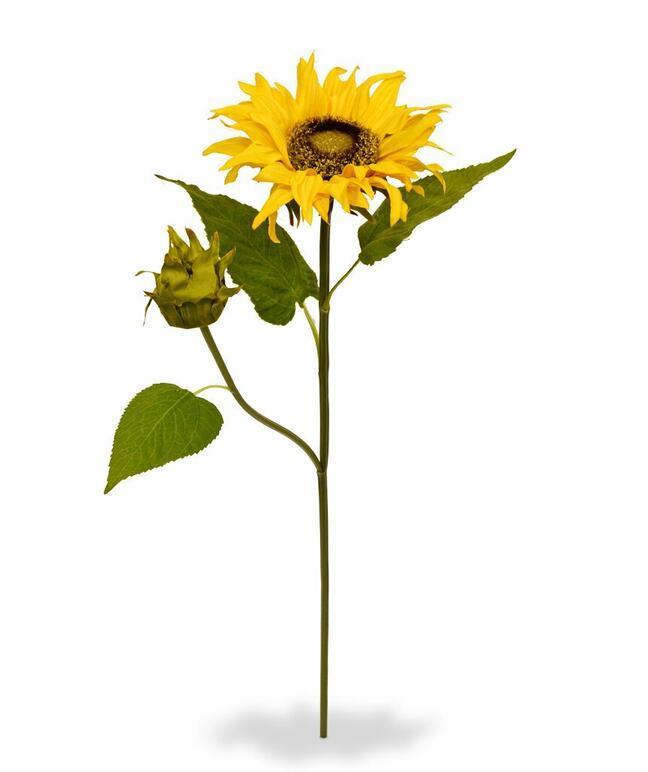 Umělá větev Slunečnice 55 cm