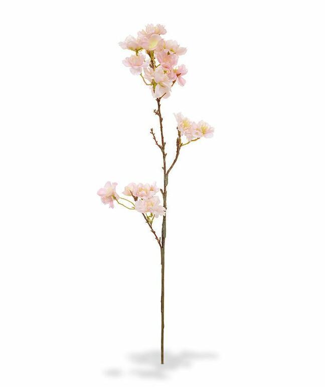 Umělá větev Třešeň růžová 60 cm
