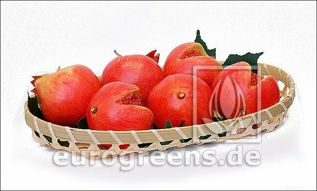 Umělé Granátové jablko červené