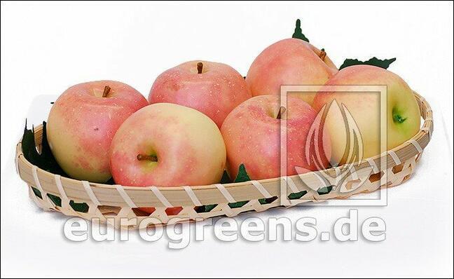 Umělé Jablko světlečervené