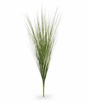 Umělý krémově-zelený zapichovací svazek trávy třtina 85 cm