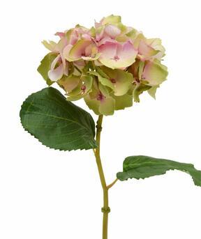 Umělý květ Hortenzie růžový 45 cm