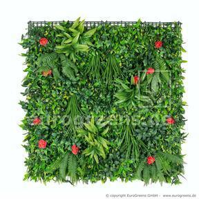 Umělý květinový panel - 100x100cm
