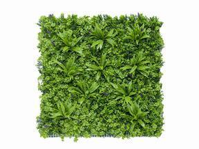 Umělý květinový panel Rozchodník - 100x100 cm