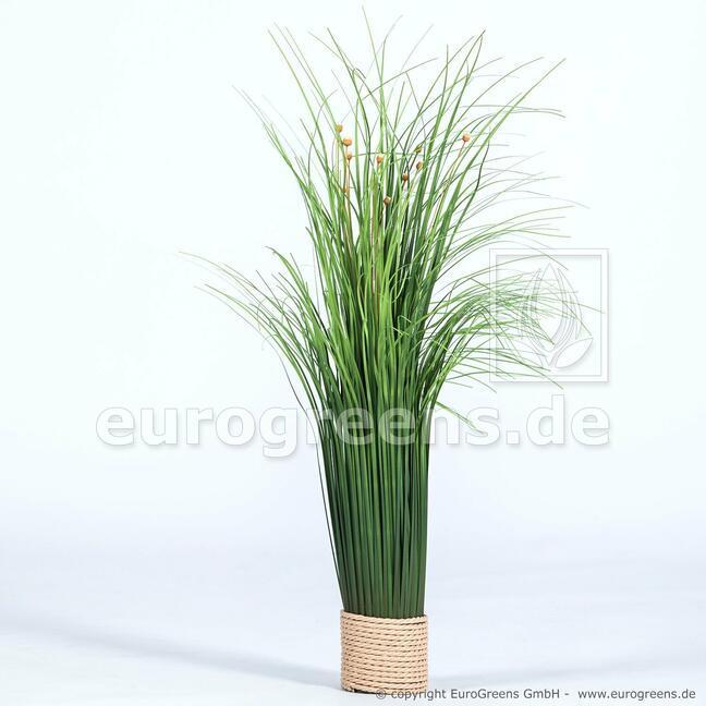 Umělý kvetoucí svazek trávy 55 cm