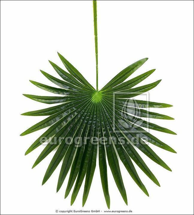 Umělý list palma Livistona 90 cm