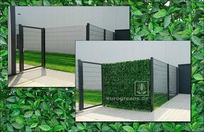 Umělý listnatý panel Višeň - 50x50cm