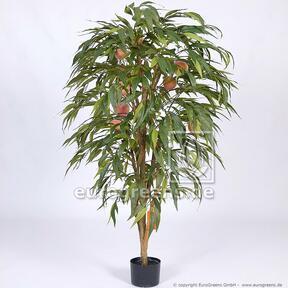 Umělý strom Broskev s plody 160 cm