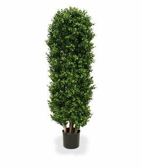 Umělý strom Buxus sloupovitý 125 cm