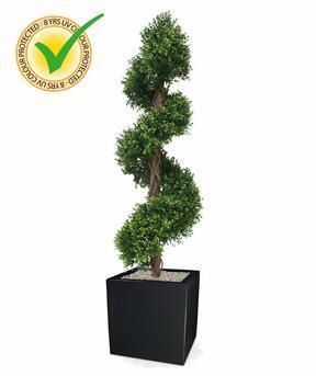 Umělý strom Buxus spirálový 170 cm