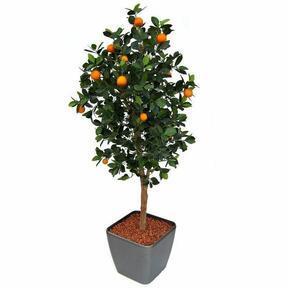 Umělý strom Citrónovník pomerančový 150 cm