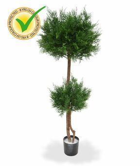 Umělý strom Cypřišek tujovitý 145 cm