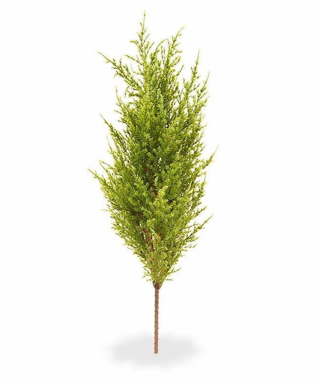 Umělý strom Cypřišek tujovitý zeleno-žlutý 56 cm