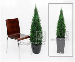 Umělý strom Cyprus stálezelený 120 cm