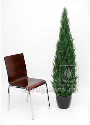 Umělý strom Cyprus stálezelený 150 cm