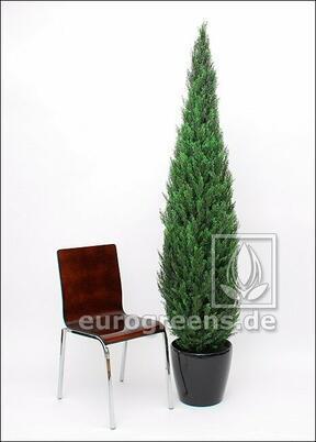 Umělý strom Cyprus stálezelený 210 cm