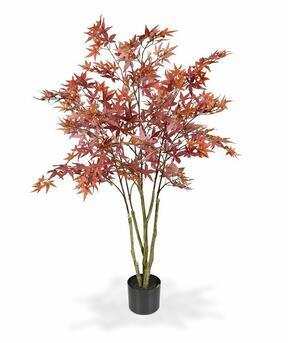 Umělý strom Javor burgundy 120 cm