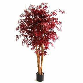 Umělý strom Javor burgundy 160 cm