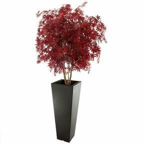 Umělý strom Javor burgundy 165 cm
