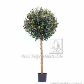 Umělý strom Olivovník kulatý 120 cm