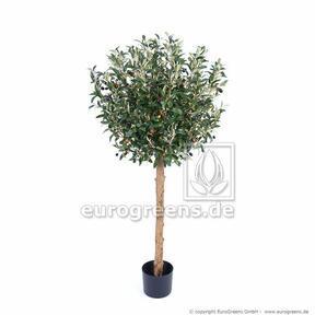 Umělý strom Olivovník s olivami 120 cm