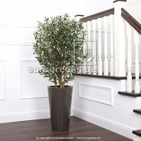 Umělý strom Olivovník s olivami 130 cm