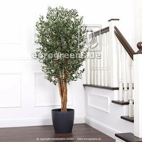 Umělý strom Olivovník s olivami 180 cm