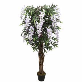 Umělý strom Vistárie fialová 150 cm