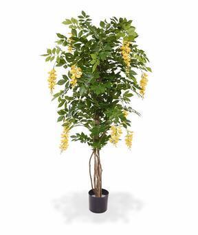 Umělý strom Vistárie žlutá 150 cm