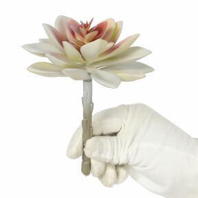 Umělý sukulent Echeveria 14 cm