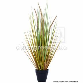 Umělý svazek trávy Dochan v květináči 65 cm