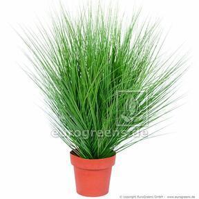 Umělý svazek trávy Jačmenice písečná v květináči 85 cm