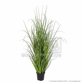 Umělý svazek trávy Miskant obrovský v květináči 70 cm