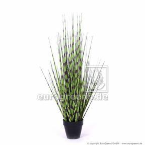 Umělý svazek trávy Ozdobnice čínská v květináči 105 cm