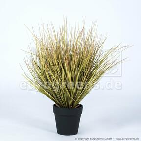 Umělý svazek trávy Panicum v květináči 55 cm