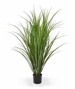 Umělý svazek trávy Rákos obecný v květináči 100 cm