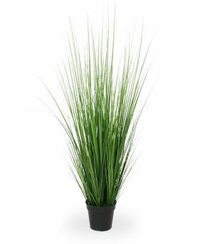 Umělý svazek trávy v květináči 100 cm