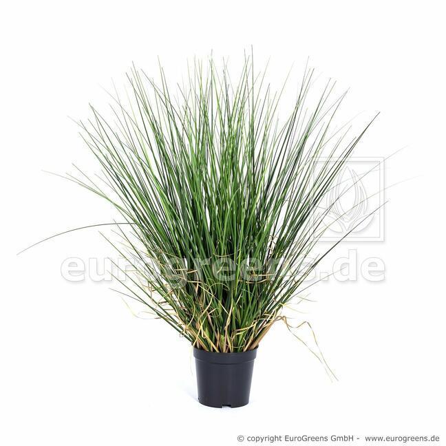Umělý svazek trávy v květináči 50 cm