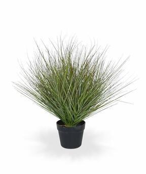 Umělý svazek trávy v květináči 60 cm