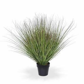 Umělý svazek trávy v květináči 80 cm