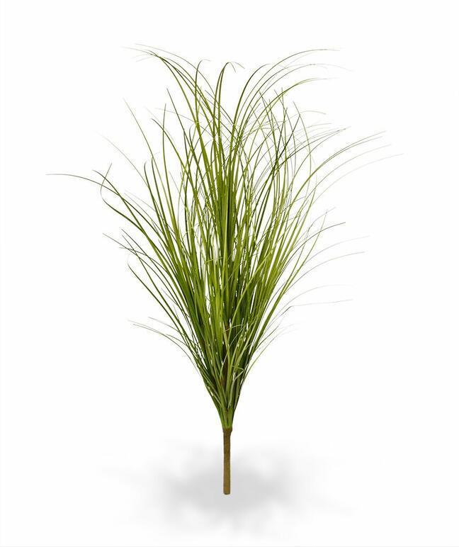 Umělý světle zelený zapichovací svazek trávy 60 cm