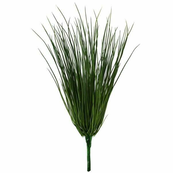 Umělý zapichovací svazek trávy 35 cm