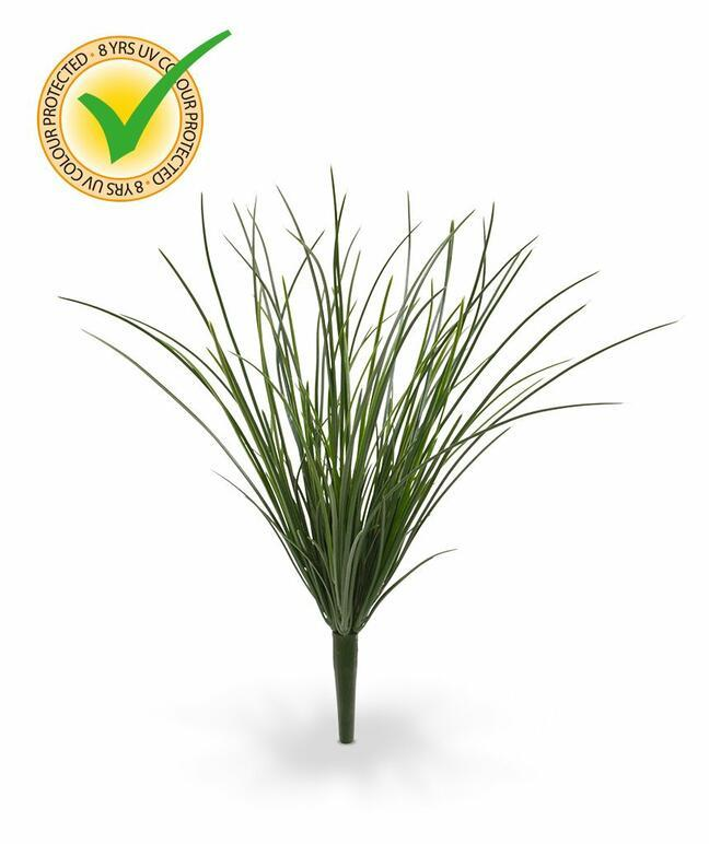 Umělý zapichovací svazek trávy 40 cm