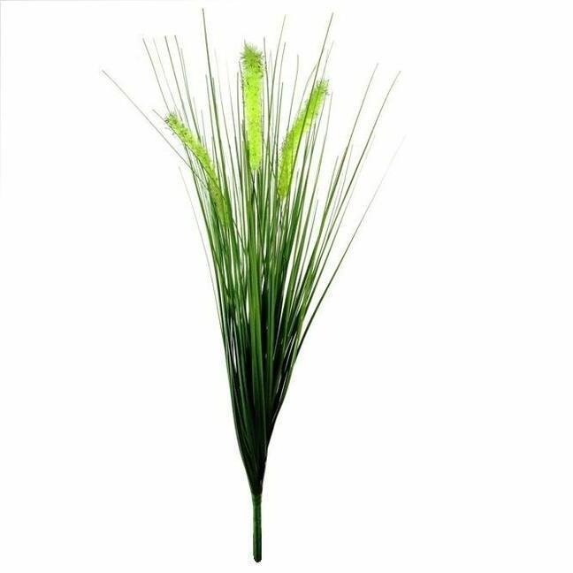 Umělý zapichovací svazek trávy Dochan 50 cm