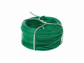 Vázací drát na umělý živý plot, plastifikovaný zelený 1,2 mm - návin 25 m